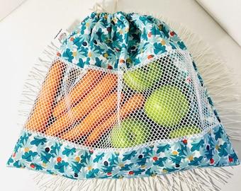 Net Bulk Bag: zero waste reusable bag for fruits and vegetables