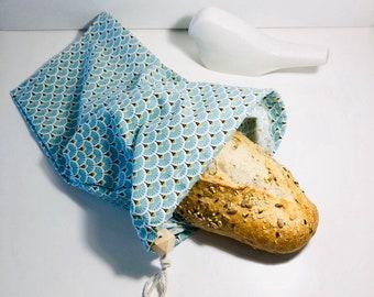 The Bread Bag: zero waste cloth bag for sliced bread