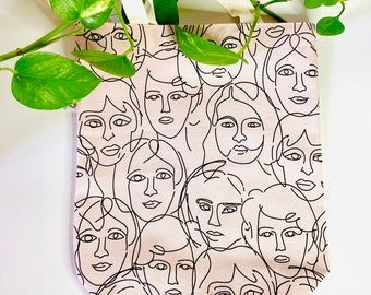Tote bag, canvas bag for eco-responsible races