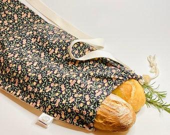 The Baguette Bag: large bag zero waste cotton and linen