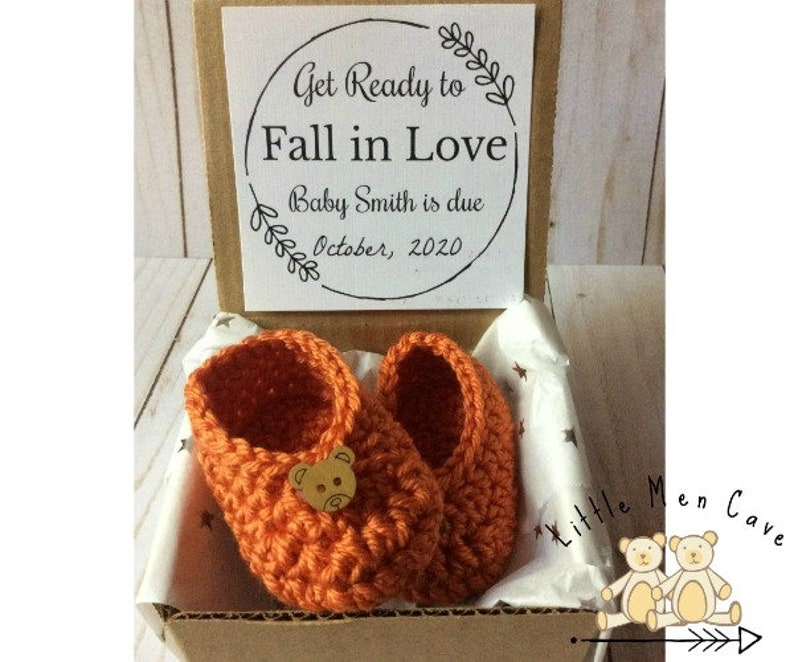 Fall Pregnancy Announcement October Baby Announcement Baby image 0