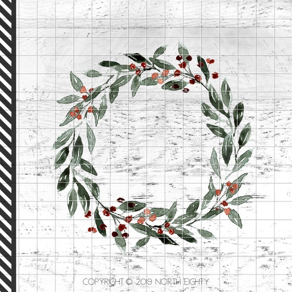 Merry And Bright Sublimation Design Download Christmas Clip Art Christmas Waterslide png Download Farmhouse Sublimation Design