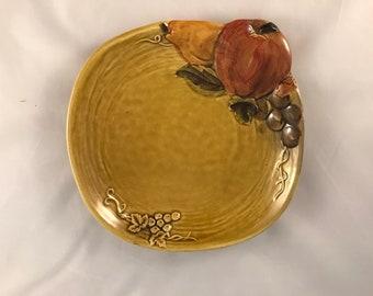 Z Lefton Pocelain Serving PlateFine Japanese China PlateLefton 4132Fruit Salad PlateSandwich PlateWall Art F1153 Collectible Geo