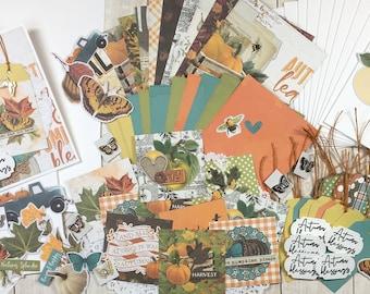 Harvest Season DIY Card Kit, DIY Card Kit, Autumn Card Kit, DIY Autumn, Fall Card Kit, Fall Cards, Autumn Cards, Seasonal Card Kit, Card Kit