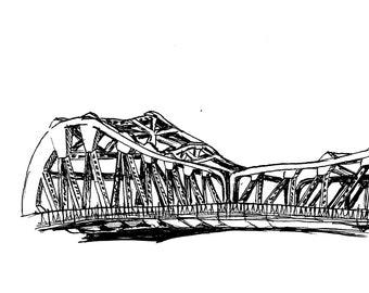Park Street Bridge Print