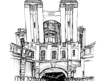 Alameda Portal Print