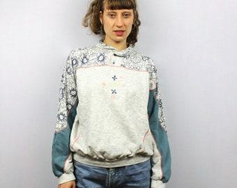 Pulli weich Nicki DARK BLUE orange sweater enger pullover