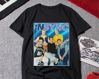 fb3bd808f Nsync T Shirt, Nsync Shirt, Nsync Tee, Nsync Clothing Perfect Gift Clothing,  Rock band Tee