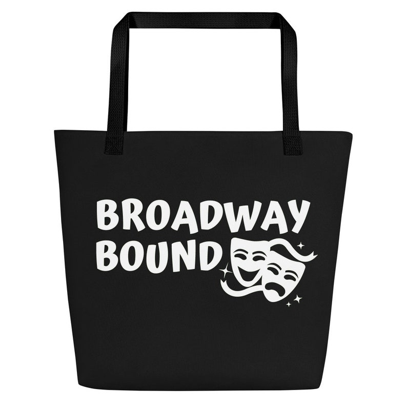 Broadway Bound Beach Bag Black