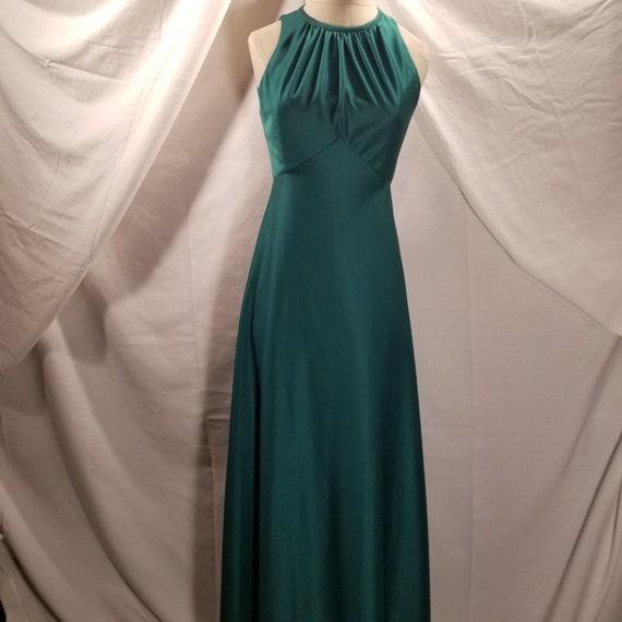 Vintage | Emerald Green | Bridesmaid | Prom | Wedd