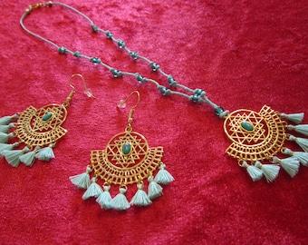 fantasy jewelry gift best friend elven jewelry Moth pendant necklace jewelry electroformed witch jewelry cicada necklace
