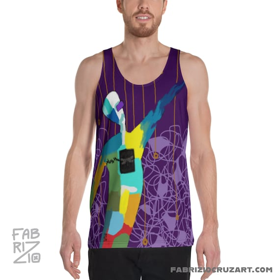 Reach Out, Touch Heaven  Unisex Tank Top