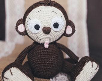 Naughty monkey amigurumi pattern | Crochet monkey, Crochet monkey ... | 270x340
