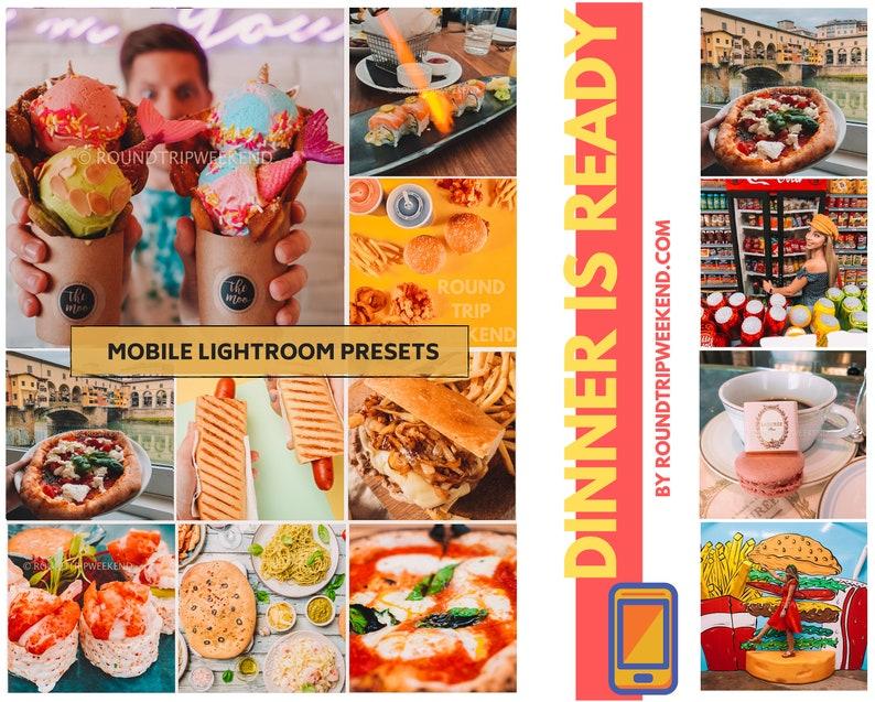 LIGHTROOM PRESETS MOBILE  for food presets Instagram image 0