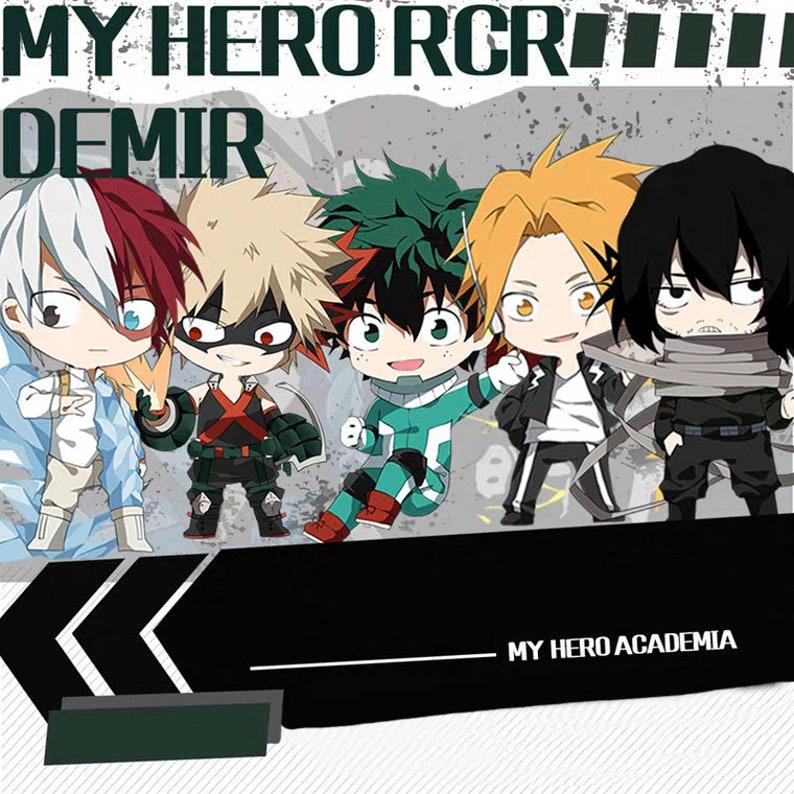 My Hero Academia Anime Winter Double Sided Acrylic Keychain Stand