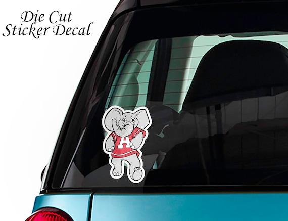 Car Decal Sticker NEW Alabama Crimson Tide Die-Cut Alternate Metal Auto Emblem