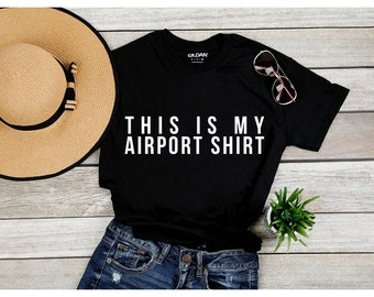 bb2ae466 Airport shirt | Etsy