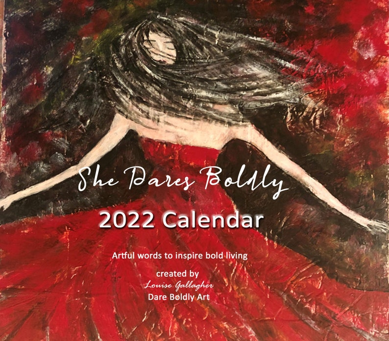 2022 Desk Calendar teacher gift. stocking stuffer 2021 image 1