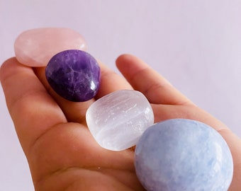 Precious Crystals For A Child's Bedroom / Surround Your Child With Love & Happiness / Angelic Sweet Dreams / Helps Discourage Nightmares