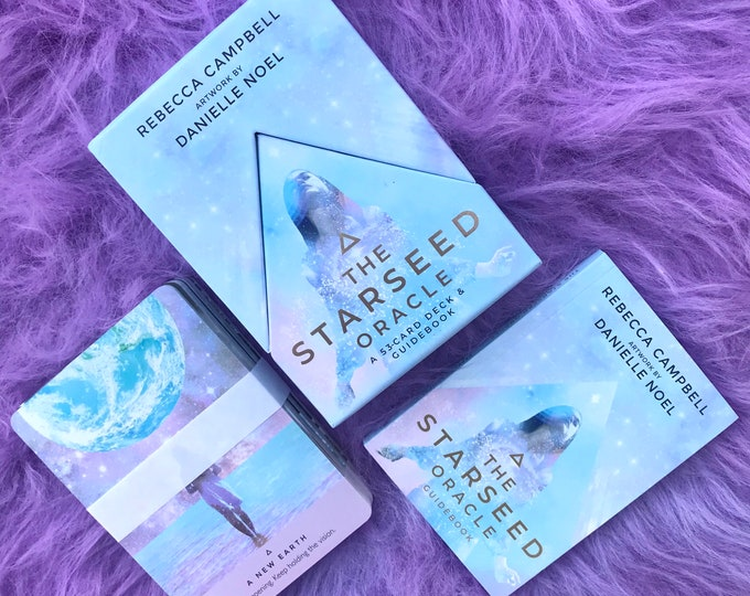Starseed Oracle Cards by Rebecca Campbell / Starseed Soul / Connect With Your Cosmic Origin / Be Who You Really Are / Empaths / Lightworkers