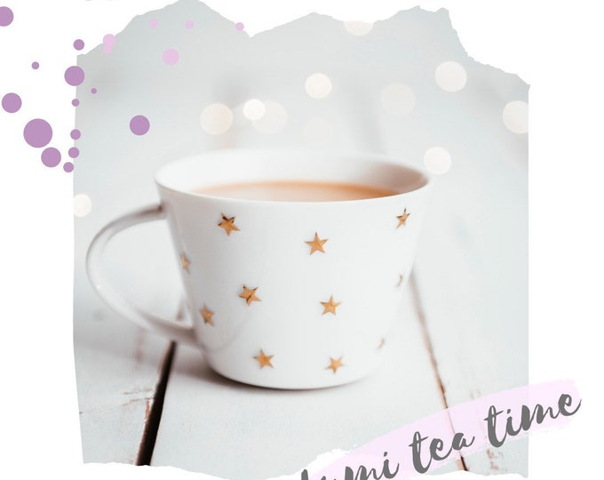Fresh Fruit Tea Bags / Hand Filled, Supporting Small Businesses / Strawberry, Orange Cookies, Apple Cider / Relaxing, Fruit, Black Tea