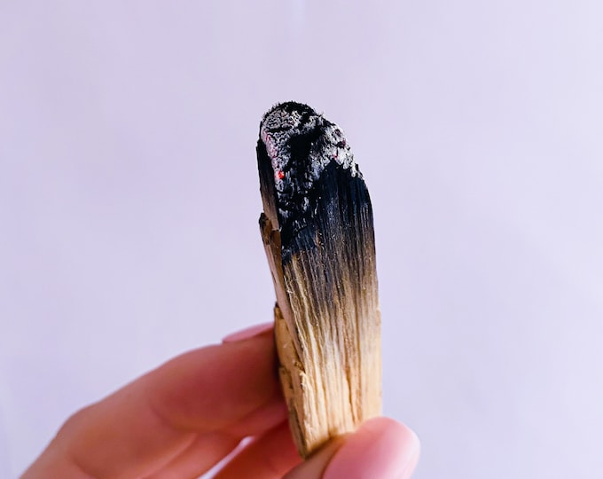 Palo Santo Wood Ethically + Responsibly Sourced / Crystal Cleanser / Removes Negative Energies / Cleanses Your Aura & Home