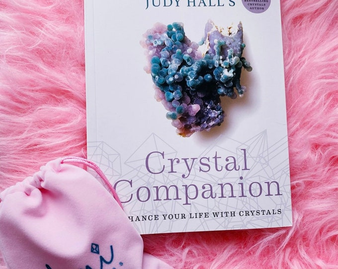 Crystal Companion by Judy Hall / Enhance Your Life With Crystals / Crystal Guide, Crystal Descriptions / Karmic Clearing, Grounding, Protect