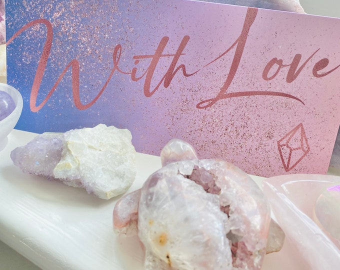 Lumi Gemstones Physical Gift Card / Gift For Her, Gift For Him / Birthday Gift / Christmas Gift / Mother's Day Gift, Fathers Day Gift
