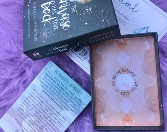 The Universe Has Your Back by Gabrielle Bernstein / Tune In To Your Infinite Potential / Hear Messages From Spirit / Oracle Cards