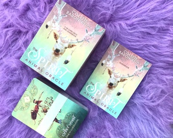 Spirit Animal Oracle Cards by Collette Baron-Reid / Tune In To Your Infinite Potential / Oracle Cards / Tarot Cards
