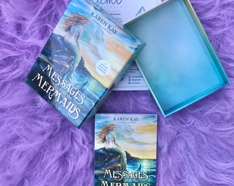 Messages From The Mermaids by Karen Kay / Tune In To Your Infinite Potential / Hear Messages From Spirit / Oracle Cards
