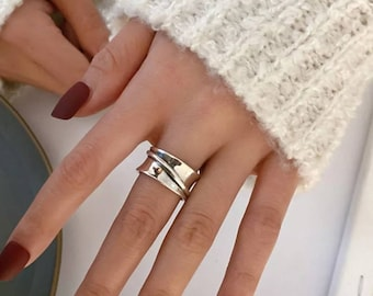 Stackable Ring, 925 Silver Ring, 925 Gold Ring, Simple Silver Bands, Simple Gold Bands, Stacked Ring, Minimalist Ring, Gold Bands, Band Ring