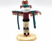 Native American Kachina Doll Eagle Handmade Indian Signed