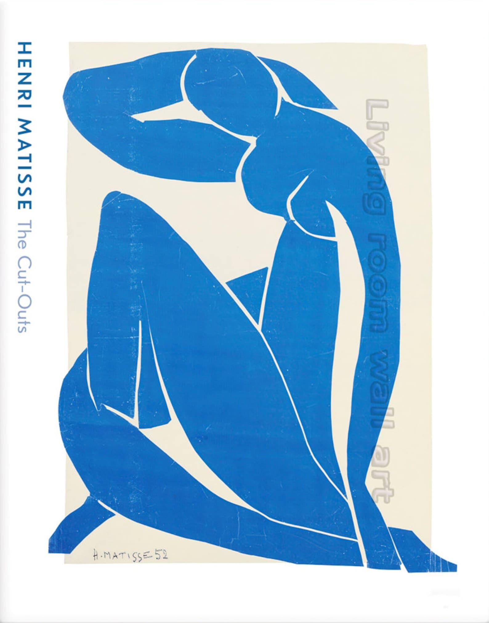 Henri Matisse Nu Bleu II (Blue Nude II) 1952 Artwork for