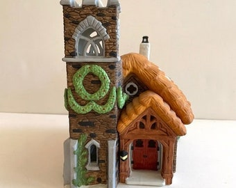 "Dept 56, Dickens Village Series - ""Ivy Glen Church"" -  MIB Retired Collectable"