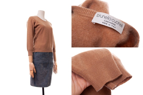 Women's BRUNELLO CUCINELLI Cashmere Sweater Top Sw
