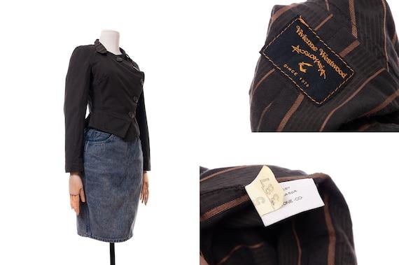Women's Vivienne Westwood Anglomania Brown Stripe