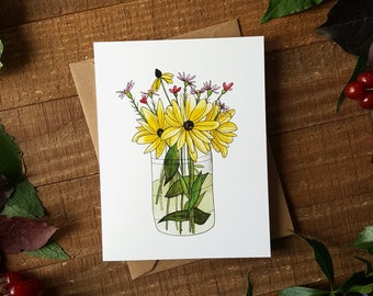 Flower Cards, Floral Cards, Blank Cards, Note Cards, Watercolour Cards, Womens Cards