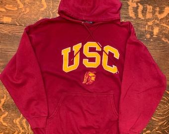 a7e1a2880 Vintage USC Tojans Hoodie