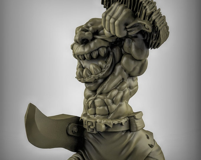 Goblins with Shields- Pose 2 - 3D Printed Resin Miniature for Dungeons and Dragons, Pathfinder, Starfinder and other Tabletop RPGs