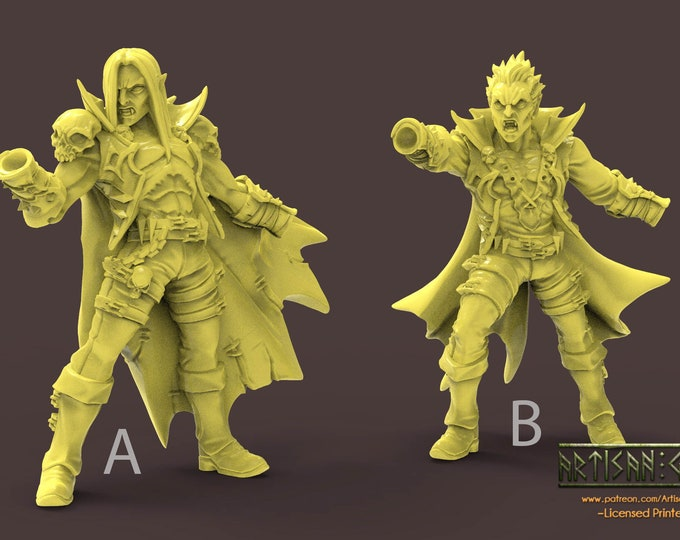 Soulless Bloodseeker Vampires - 4 Styles - 3D Printed Resin Miniature for Dungeons and Dragons, Pathfinder, Starfinder and Tabletop RPGs