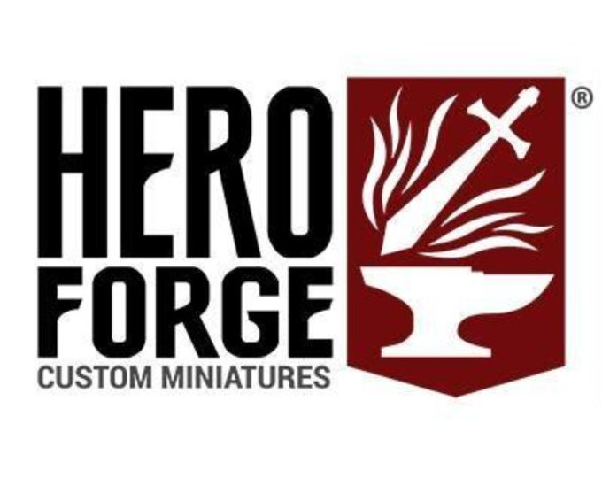 HeroForge Printing - 3D Printed Resin Miniature for Dungeons and Dragons, Pathfinder, Starfinder and other Tabletop RPGs