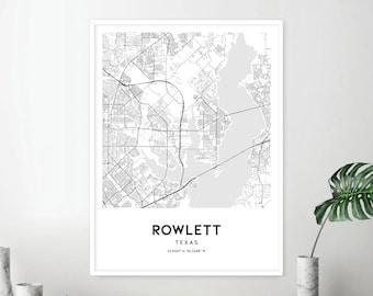 Rowlett Texas Etsy