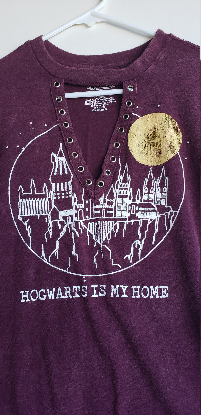 Harry Potter Hogwarts Is My Home T-shirt