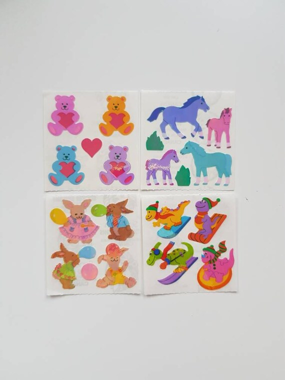 25 Strips Mrs Grossman ROLLERBLADING ROLLERBLADES Stickers Vintage