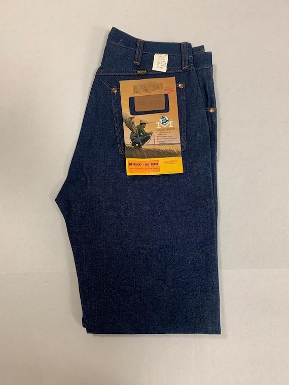 Maverick Jeans Blue Bell Sanforized 350 Denim 34X3