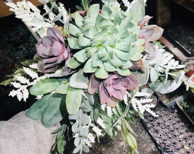 Succulent wedding Bouquet | succulent bouquet | bride | bridal bouquet|succulents |succulent gifts|