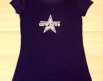 98c804d7 Dallas Cowboys Women's Juniors Top Size Small