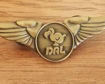 Dodo Pilot/Airline Wings - AC DAL Inspired Metal Pin