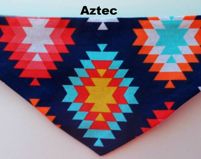 Dog Bandanas, Tie On, Reversible, Toy Breeds, Size X-Small
